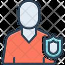 Self Protection Defense Custody Icon