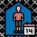 Self quarantine Icon