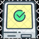 Self Service Terminal Untact Terminal Icon