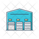 Self Storage Unit Front Icon