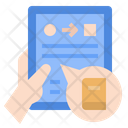 Self Taught Online Education Online Book Icon
