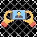 Selfie Self Portrait Photograph Icon