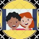 Friendship Friends Selfie Icon