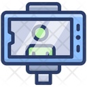 Selfie Stick Camera Selfie Monopod Icon