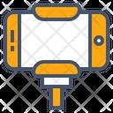 Party Selfie Selfie Stick Icon