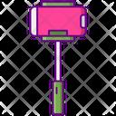 Mselfie Stick Selfie Stick Gimbal Icon