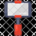 Selfie Stick Mobile Camera Selfie Capturing Icon