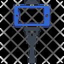 Camera Selfie Stick Icon