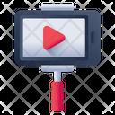 Mobile Video Selfie Stick Mobile Movie Icon