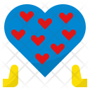 Selfless Heart Generous Icon