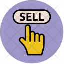 Sell Hand Touch Icon