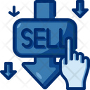 Sell Selling Click Icon