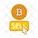 Sell Bitcoin Buy Digital Currency Icon