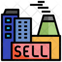 Sell Business Selling Signaling Icon