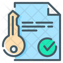 Close On Property Key Sell House Icon