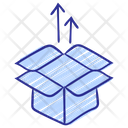 Box Out Commerce Sell Icon