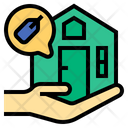 Sell Property Home For Sale Icon