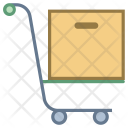 Sell Stock Handtruck Icon