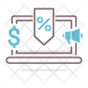 Sell Through Rate Money Rate Icon