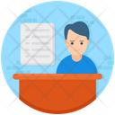 Seller Vendor Shopkeeper Icon