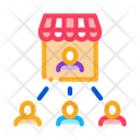 Seller Buyers Management Icon