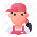 Seller Vendor People Icon