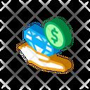 Selling Diamond Money Icon
