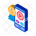 Selling Phone Player Icon