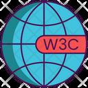 Semantic Web Browser Internet Icon