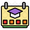 Semester Term Class Schedule Icon