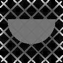 Semi Circle Icon