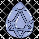 Semi Precious Stone Diamond Jewel Icon
