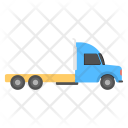 Heavy Semi Truck Icon