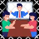 Seminar Official Workshop Online Presenter Icon