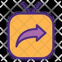 Send Foeward Igtv Icon