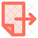 Send Document Transfer Icon