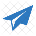 Send Paperplane Message Icon