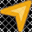 Social Media Send Letter Icon