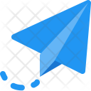 Send Flying Paperplane Icon
