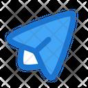 Send Plane Message Icon