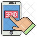 Send Online Payment Icon