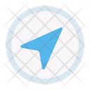 Send Submit Button Icon