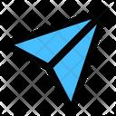 Send Plane Dm Icon