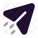 Send Arrow Paper Plane Icon