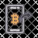 Send Pay Bitcoin Icon