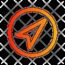 Send Circle Icon