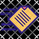 Document Contour Information Icon