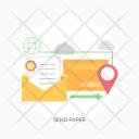 Send Document Paper Icon