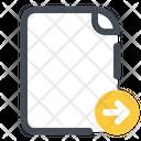 Send File Document Icon