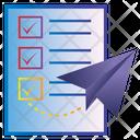 Send List Icon